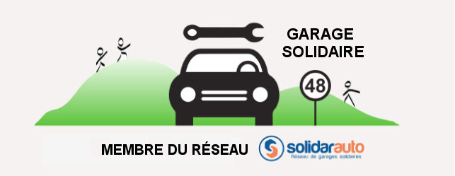 Logo Garage Solidaire 48