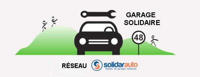 Logo Garage Solidaire 48